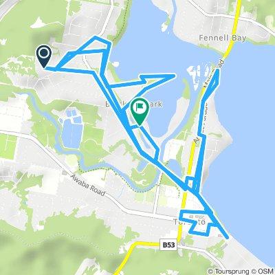 Random Ride South of Fennell Bay Bridge