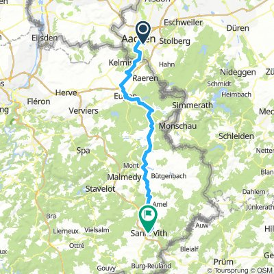 2.AachenHbf-St.Vith79km920hm
