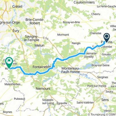 De Fontainebleau à Vicomte
