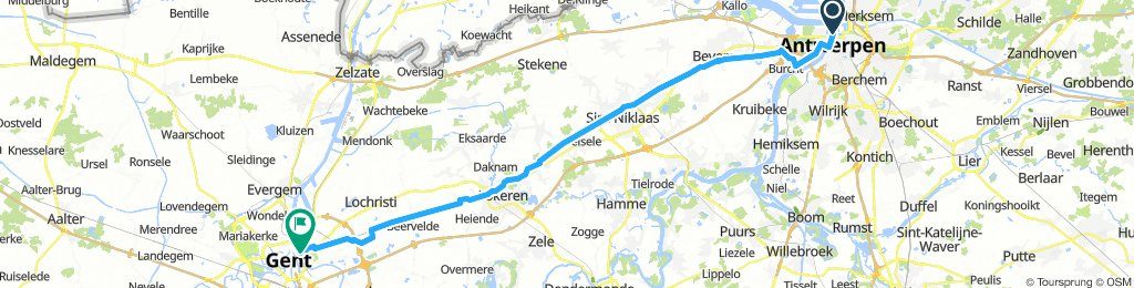 Antwerpen - Gent woonwerk