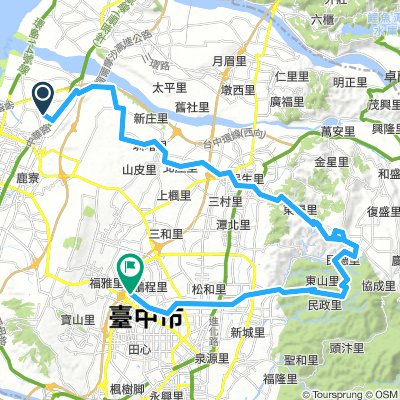 Taichung route