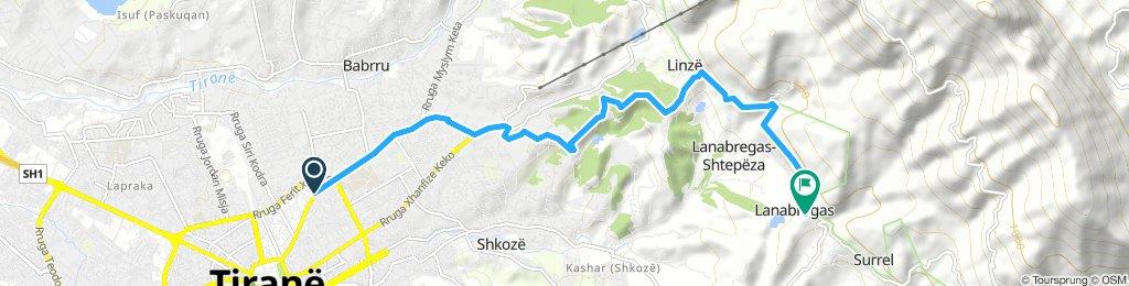 1 hr Dajt route