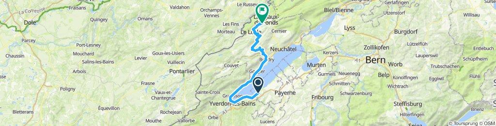 TT 10 Cheyres - La Chaux de Fonds