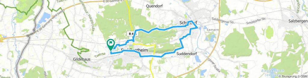 Gut Langen - Schüttorf E-bike route
