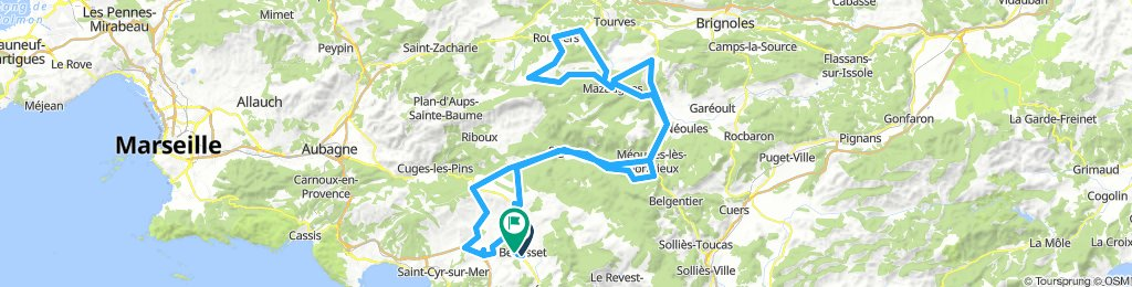 Cyclosportive Poli Sud Sainte Baume - Grand Parcours