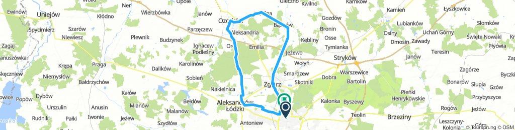 Pętla Łódź Północ Ozorków 60