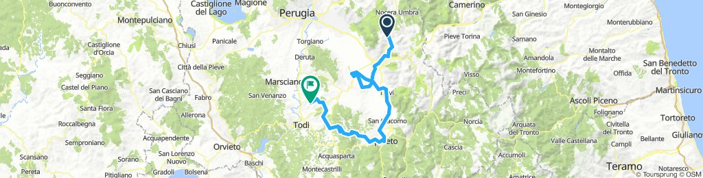 Day 3 - Foligno - Frontignano