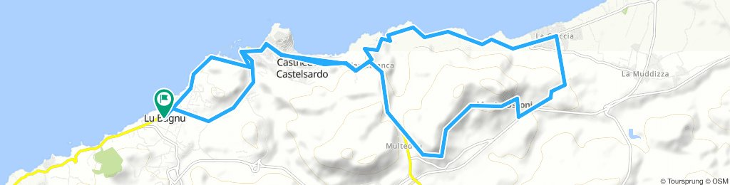 Lu Bagnu-Castelsardo-La Caccia (Nord)