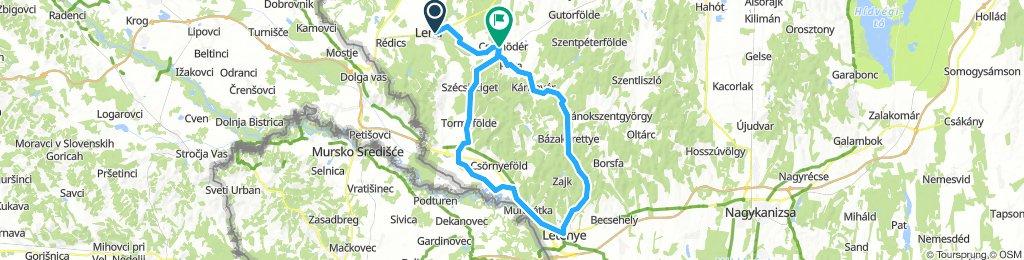 Kerékpárral a Kerka és a Mura mentén (Kerka-völgye kör)
