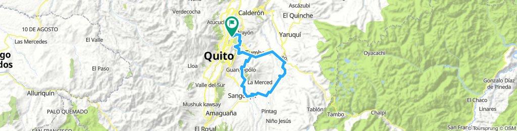 Paseo de Ruta Tatoo Febrero 2019 -Vuelta a Pifo 85K-