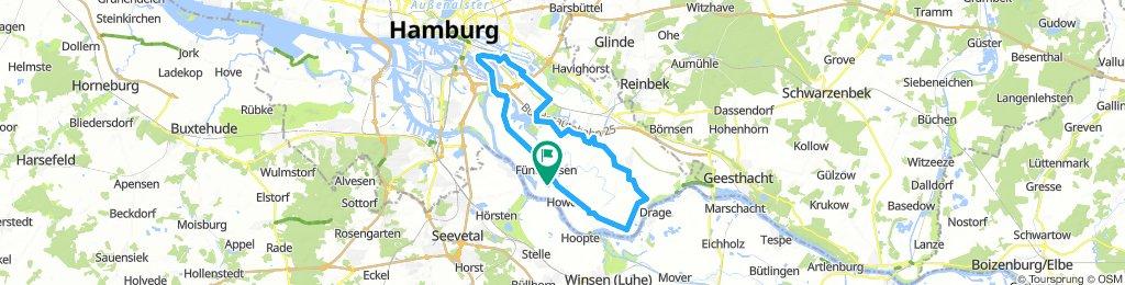 Kircherwerder  Tour