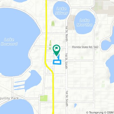 Cycling routes and bike maps in and around Winter Haven | Bikemap ...