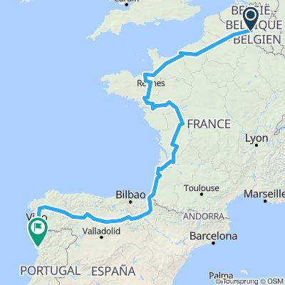 From Charleroi to Porto