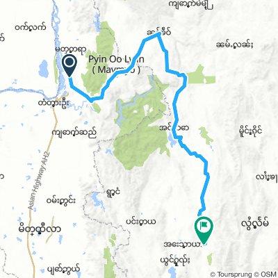 Mandalay - Taunggyi