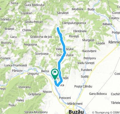Valea Nucului - Podu Muncii si retur