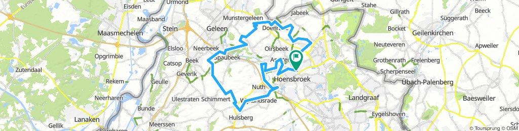 MTB route voor zondag 24-2-19