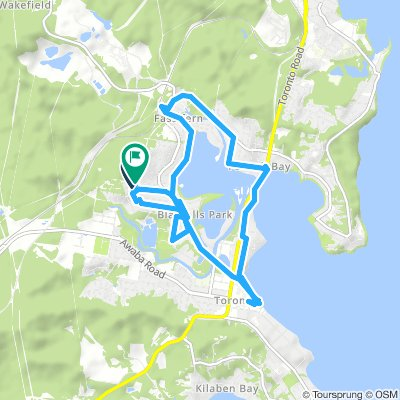 Around Fennell Bay & connected suburbs