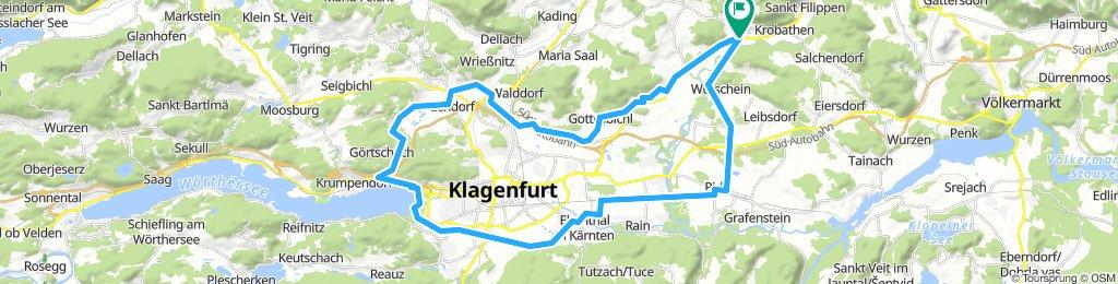 Around Klagenfurt Start Pischeldorf