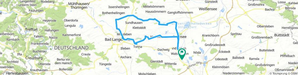 Elxleben - Großwelsbach - Elxleben