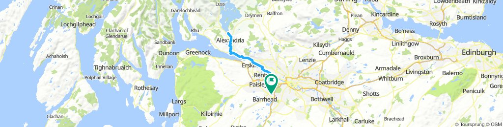 Balloch easy cycle