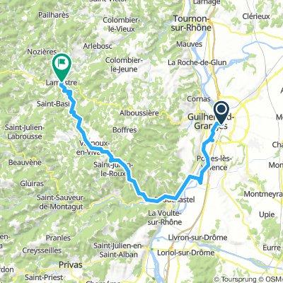 Samedi 23/3 Ardèche étape1