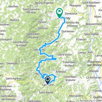 Dimanche 24/3 Ardèche étape2