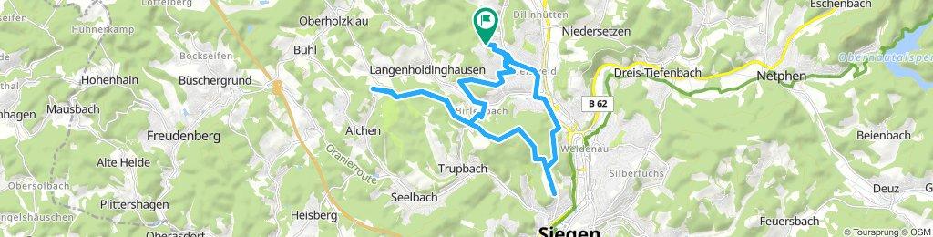 Truppacher Heide, Panzerstrasse