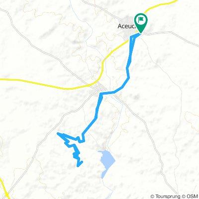 ruta al pantano de Villalba