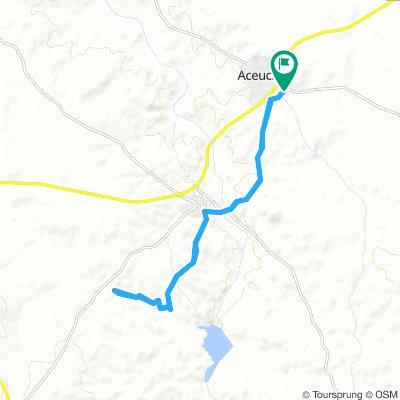 camino del pantano de Villalba