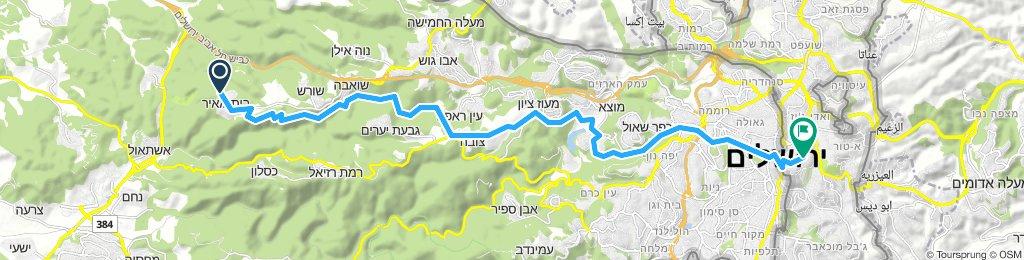Day 3 - Bet Meir to Jerusalem