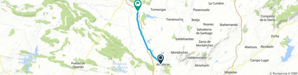Alcuescar - Valdesalor