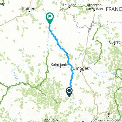 Dag 3: Jumilhac-Lussac-les Châteaux (vr 12 en za 13/7)
