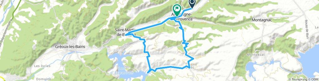 Route3, Allemagne en provence / esparon