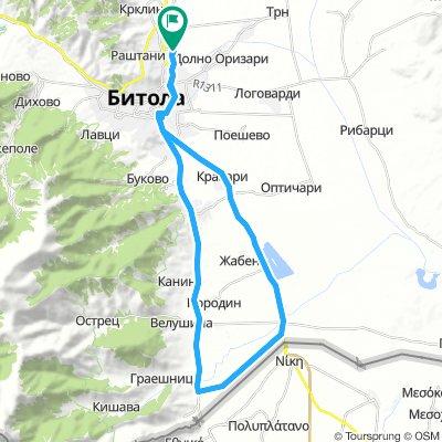 Bitola - Lazhec - Bitola