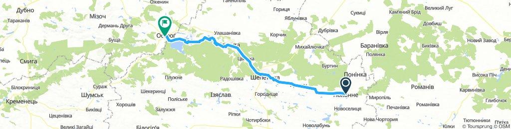 Polonne, Ukraine (Полоннe) / Ostroh, Ukraine (Острог)
