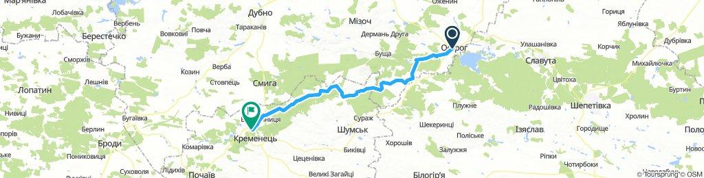 Ostroh, Ukraine / Kremenets, Ukraine (Кременець)