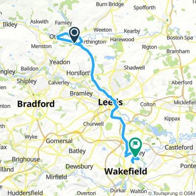 Slow ride in Wakefield