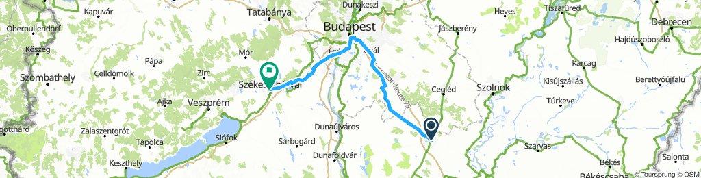 Europa Tour 2k13 1 Kecskemet - Szekesfehervar