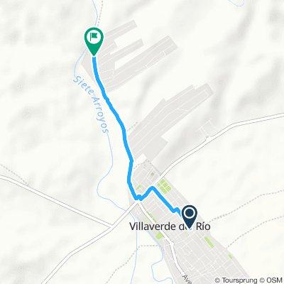 Ruta relajada en Villaverde Del Río