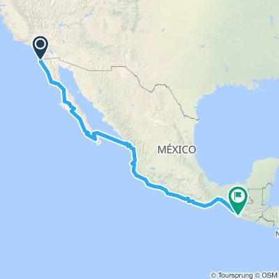 Mexique 1 70j(55b-15v)