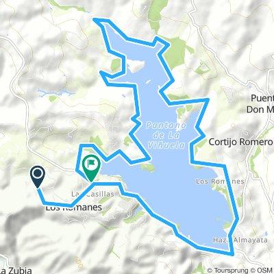 LAKE 20 mile route