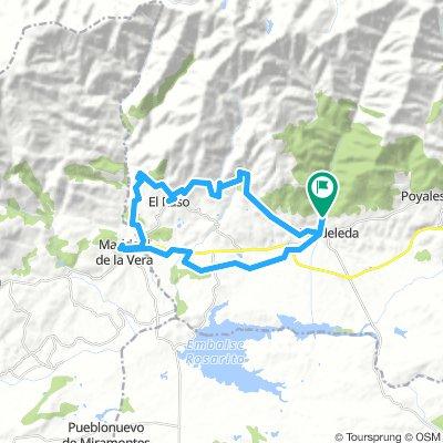 Candeleda_Madrigal_Castro_Santuario 40km 770m