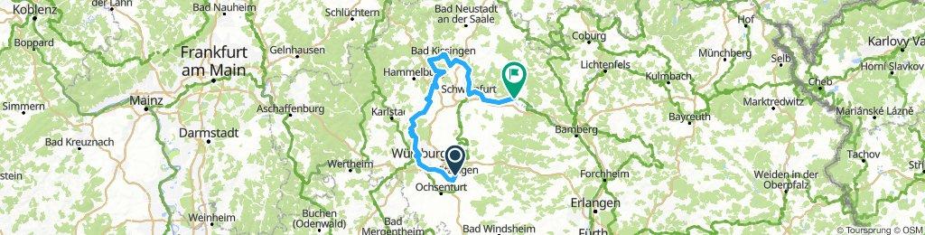 2019-02-27 Tour durch Unterfranken