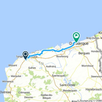 Stage 1A Calais to Dunkirk