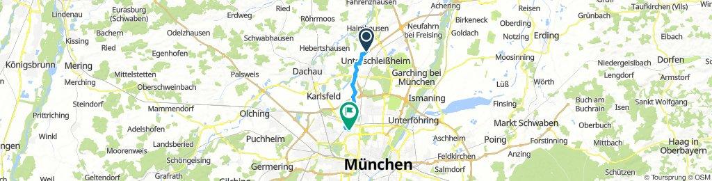 Easy ride in Munich
