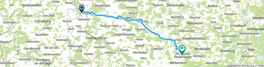 Biertour Bayern Rothenburg - Wolframs Eschenbach