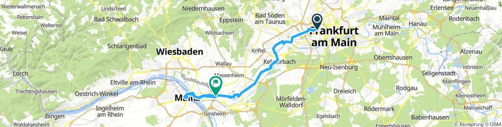 Am Main nach Mainz
