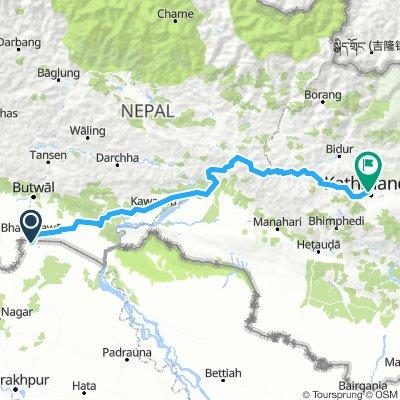 Sonauli - Kathmandu