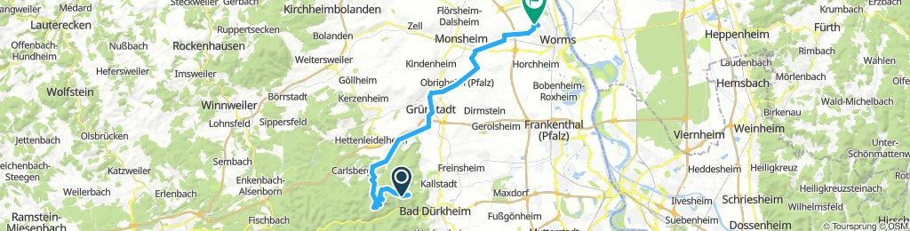Lindemannsruh - WO zurück