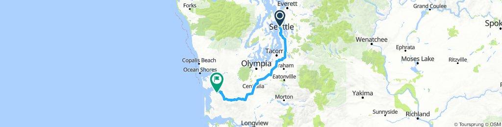 Seattle to Nalpee